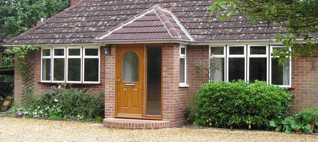 Porch Installation - Basingstoke